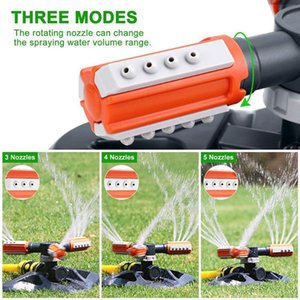 Automatic Garden Sprinklers Rotating Water Lawn Care 360 Degree Sprinkler 36 Nozzles Garden Irrigation Tools Supplies