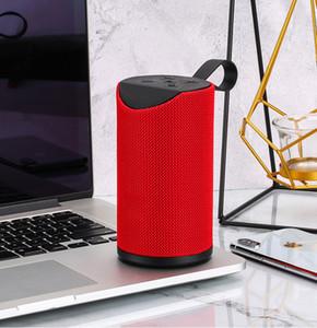2019 populaire nouvelle art tissu colonne altavoz movil Bluetooth haut-parleur basse ceinture portable boîte de boom sans fil Radio FM reveil portatil bocinas BT