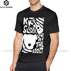 Animal Crossing maglietta KK Slider T-Shirt di modo del Mens Tee Shirt divertente Stampa maniche corte in cotone Tshirt T200330