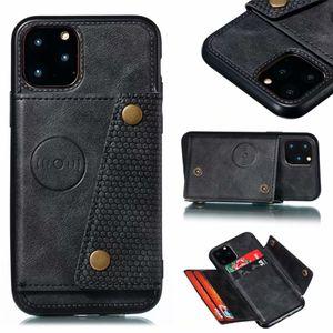 Üst Kalite Kılıf iPhone 11 6 7 8 7 p Pro x xr xs MAX Fit Bırak Premium Kapak Kılıf Çift Düğmeler