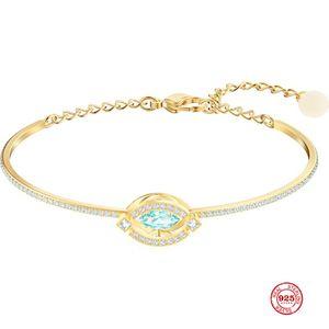 2020 Новая мода Charm Pure Silver 925 Оригинал Копия, свежий цвет Великолепная Благородный Дикого Браслет Женские Роскошные ювелирные подарки