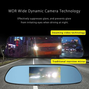 10 Inch Mirror Sprint Sport Camera 1080P Full Hd Dual Lens contact Screen Car Video Recorder