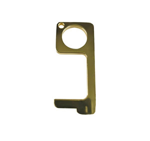 DHL Elevator Button Contactless Tool Safety Door Handle Brass Key Grip Safety Protection Isolation No-Touch Opener ne