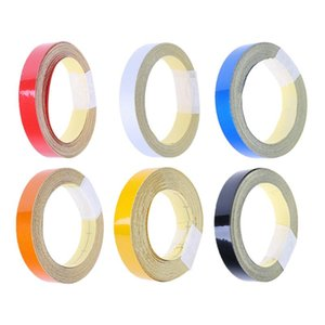 Cheap Car Stickers Car DIY Reflective Tape Sticker Strip Decoration Auto Motorcycle Truck Safety Warning Mark Signs Tapes Conspicuity Tape