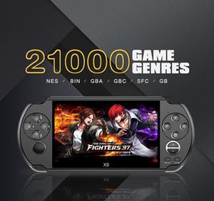 Игровая приставка X9 Handheld Game Player для PSP Retro Game 5,0 дюймовый экран Поддержка TV Out с Mp3 кинокамеру Мультимедиа 1шт