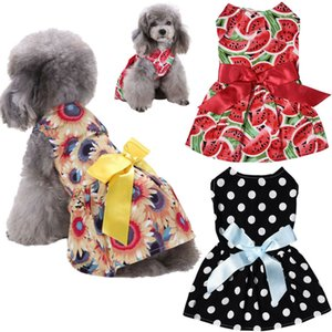2019 Brand New Pet Small Puppy Dog Tutu Dress Lace Skirt Cat Princess Dress Clothes Apparel Dog Skirts Party Style Dropshipping