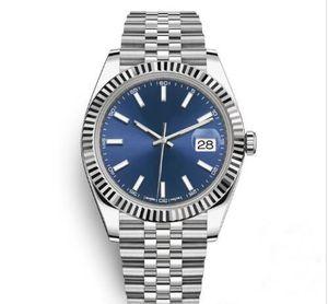heißer Verkauf 41mm Edelstahl solide Verschluss automatische Bewegung 2813 mechanische Uhr Männer Big Date Präsident Desinger Herrenuhren