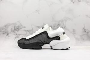 Y-3 Erkek Ayakkabı Ren Kaiwa çekirdek ayakkabı Erkek Koşu Ayakkabıları Kadınlar Için Luxe Moda Sarı Siyah Kırmızı Y3 Eğitmenler Tasarımcı Sneakers Boyutu 11