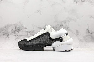 Y-3 Hommes Chaussures Ren Kaiwa core chaussures Hommes Chaussures De Course Pour Femmes Luxe Mode Jaune Noir Rouge Y3 Baskets Designer Baskets Taille 11