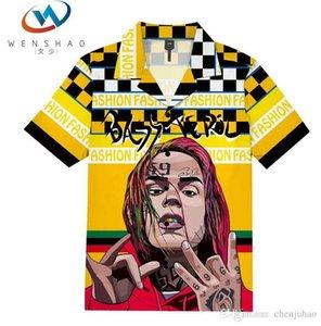 Medusa Shirts 2020 men top business and leisure fashion shirts slim long sleeve shirt printing medusa crime vs0012