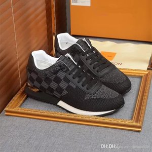 Louis Vuitton LV beiläufige Schuhe der hochwertigen Männer Turnschuhe Männer Mode Schuhe Luxus Schaffell-Einlegesohle Modell Gelegenheitsfahr Schuhe hococal