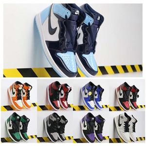pele de cobraJordâniaRetro 1 Men tênis de basquete Turbo Verde Origin Story Gs NRG X União Mulheres Retroes 1s Shoes Unc Branco Azul Esportes