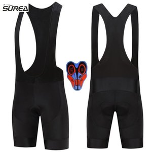 NEW Bicycle Bib Short surea Men Outdoor Wear Bike Bicycle Cycling 9D Padded Riding Bib Shorts Summer black Cycling Shorts