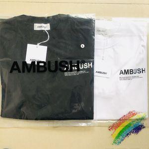 2020SS T-Shirt Женщины Мужчины высокого качества Летний стиль хип-хоп хлопок футболка с коротким рукавом Top тройники