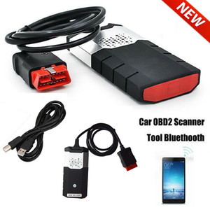 Novo R3 CAR Truck OBD Diagnostic Scanner Kits VCI OBD2 TCS CDP Scanning Aparelho R Bluetooth USB para Delphi DS150E