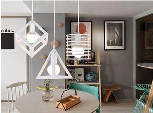 Jaula de la vendimia colgante de luz de hierro retro loft accesorios de la jaula de metal colgante de la lámpara colgante lámpara colgante restaurante cafetería decoración interior