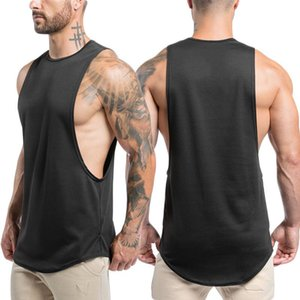 Sportswear Crazy Muscle Sleeveless Vest Men'S Summer New Style Fitness Clothing Quick-Dry Training T-Shirt Suitable For Sports