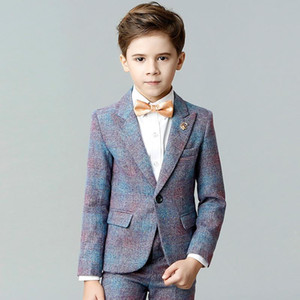 boys suits performance clothes gentleman style party dinner formal suits for 3-12 years kids children clothes