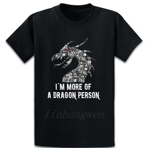 Dungeons Dice More Of Dragon Person Rpg T Shirt Loose Spring Autumn Fashion Letters S-5xl Cotton Printed Natural Shirt