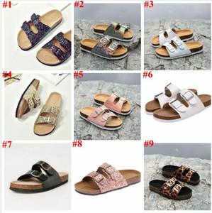 Mantar Sandles Çocuklar Pullarda Plaj Sandalet Unisex Çift Toka Yaz Terlik Antiskid Casual Kapalı Ayakkabı Soğuk Sandalias A5917 Ayaklı-flop