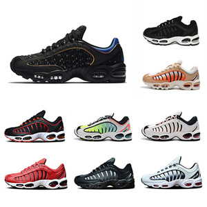 2019 OG Gradiente Tailwind 4 IV mens Running Shoes Universidade Vermelho Marinha e Ouro Preto Puro Platina SUP Almofada homens esportes Tênis 40-45