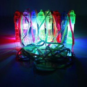 new LED Whistle Colorful Luminous Noise Maker Kids Toys Birthday Party Novelty Props Christmas chlid Luminous toy SuppliesT2I5441