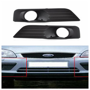 FORD FOCUS 2005-2008 right front bumper lower grille with fog lights hole RH