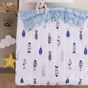 Cartoon Cotton Weighted Blanket für Erwachsene Dekompressionsgravitationsdecken Pressure Weighted Quilt Pressure Blanket #s