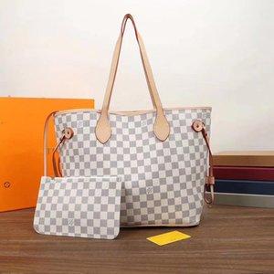 con il sacchetto regalo borsa shopping bagNeverfullLouisdonne donne del fiore MM cavans gran lusso tote borse a tracolla con pouchmTuN #
