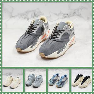 New 700 chaussures inertie réfléchissante kanye motomarine carbone sarcelle hommes bleu concepteur utilitaire femmes aimant statique noir en cours d'exécution baskets