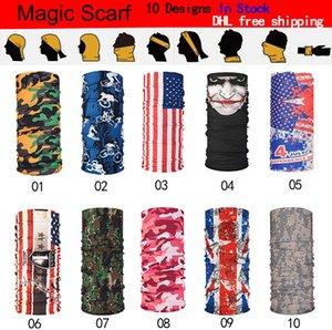 En plein air écharpe cyclisme bandana foulards magiques crème solaire sport bande de cheveux couvre-chef bandeau multifonctionnel personnalisé écharpe Livraison gratuite