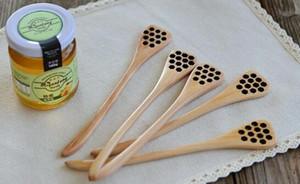 لطيف الخشب النحت الإبداعي العسل اثارة العسل ملاعق العسل منحوت العسل dipper المطبخ أداة اكسسوار