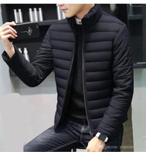 Winterjacke Warm Designer Casual-Jacke Men Licht Oberbekleidung neue Art und Weise Männer Kleidung Männer Stehkragen