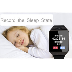 record the sleep smartwatch DZ09 smart watchs SIM Intelligent mobile phone watch can record the sleep state Smart watch