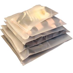 100pcs Reseable Cancella sacchetti di imballaggio 0.22mm ThinckChness Etch Acid Betch Plastica Borse auto-in stile Auto-Shirt Shirts Sock Biancheria Biancheria Bed Organizer Borsa 9 Taglie