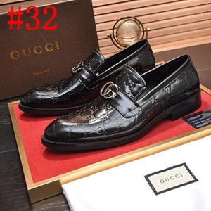 20SS 2019 мужские формальные ботинки оксфорд люксовые бренды кожаные ботинки платья большой размер 38-45 дизайн Derby мужской обуви плоские случайные Монки
