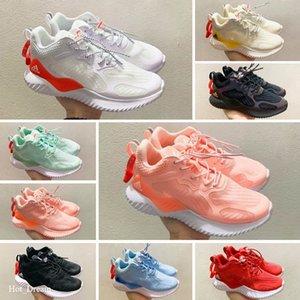 Wearable Children Kids shoes OG Running shoes Boys girl Metallic Gold Silver Bullet Pink Trainer Size 35 sneaker