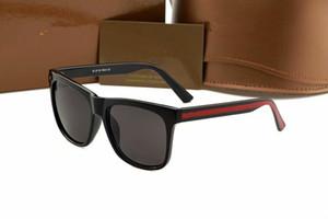 Hot moda óculos de sol de luxo 0057 designer de marca de proteção ocular óculos de sol voando de alta qualidade com casos óculos de sol entrega gratuita