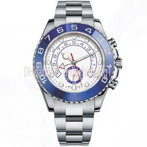 Dropshipping1-relojes para hombre 116681 de 44 mm en dos tonos de oro rosa de acero inoxidable de los hombres mecánicos relojes grandes Automático del cronógrafo del dial impermeable