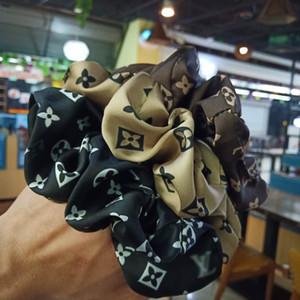Bandas coreano Mulheres Tie cabelo Hearwear meninas Elastic Lady Scrunchies rabo de cavalo titular abacaxi corda Imprimir Acessórios de cabelo 4,9