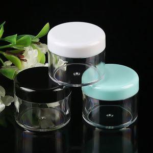 Fabrikpreis 5g Kunststoff PS Material Kosmetikverpackungen Container Lotion Serum Cremetiegel Makeup Sample Jar Lotion Cremeflaschen