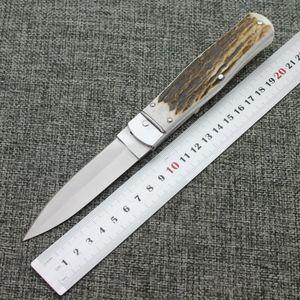 Boynuz sap D2 kendini savunma vahşi hayatta yüksek sertlik keskin küçük çakısı vahşi katlama bıçak ile açık katlama bıçak bıçağı