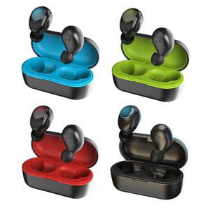 PT20 TWS Bluetooth 5.0 écouteurs tactile Hi-fi stéréo étanche sans fil mini-écouteurs casque de sport avec boîte de charge pour Smartphone