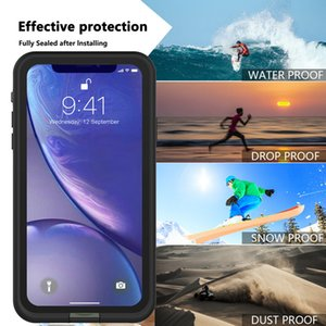 Hybrid Robot 3in1 Heavy Duty Waterproof Shockproof Defender Case For iPhone 11 Pro XS MAX X xr 7 8 se Designer Phone Cases