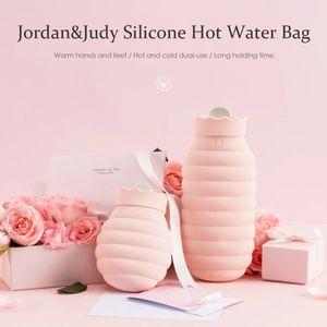 Saco de água Xiaomiyoupin JJ Mini Silicone Micro-ondas Aquecimento quente com tampa de malha Quente Injeção Mão Bag água Água quente Bottle 3011908