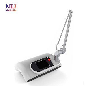 Tubo multifunções Medical RF Surgical Laser Fracionado beleza máquina de tatuagem Laser CO2 Sobrancelha Remoção Removal Machine