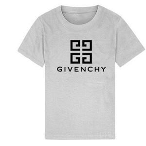 2019 New Luxury designer Kinder Shirts marke 1-9 jahre alt Baby jungen mädchen T-shirts Tops baumwolle kinder Tees kinder Kleidung 2 farben
