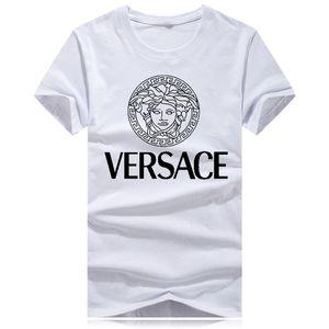 2020 Men Clothing Summer Mens T-shirts Fashion Letters Printed Tee Cool Short Sleeved Crew Neck Tees Man Women White Black gu̴cci