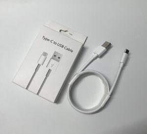 OEM original de alta calidad 1M los 3FT USB cable de datos del cargador del cable de carga para teléfono móvil con caja al por menor