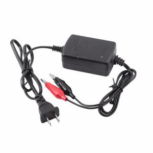 12 V 납산 충전식 자동차 보편적 인 배터리의 USB 충전기 블랙 레드 충전식 봉인 된 납 배터리 충전기